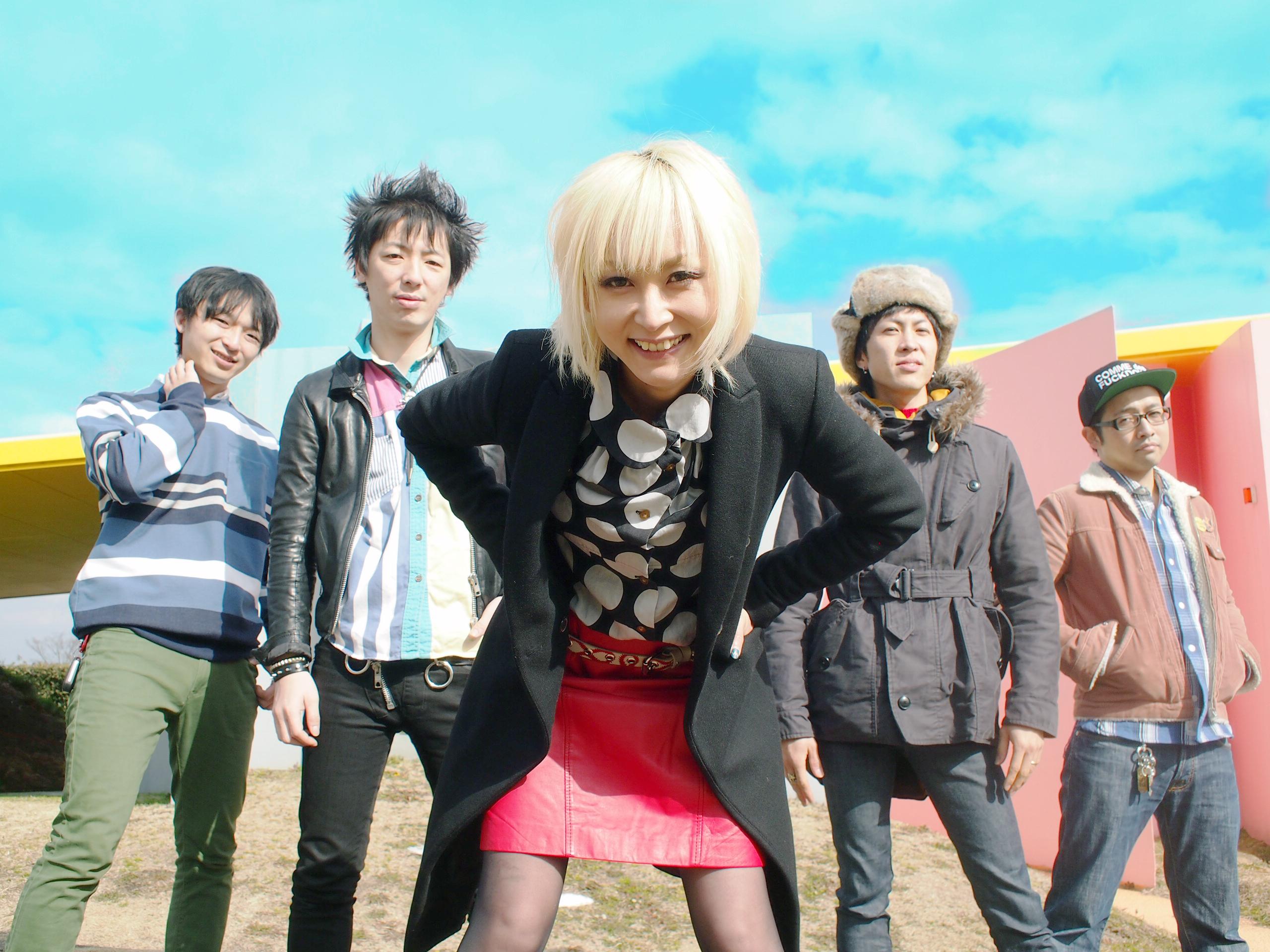 XERO FICTION 3rdフルアルバム『POP OVERDOSE!』インタビュー掲載!