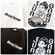 Bray me  x Jun Gray Records Tee再入荷!
